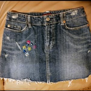 Wax Jean All American Girl Denim Skirt Wmn's Sz 5